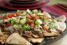 NYT Cooking: Greek-Style Nachos