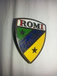 Emblema Romi Isetta - R$ 150,00 em Mercado Livre