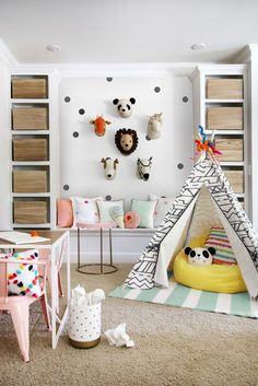 6 Totally Fresh Decorating Ideas for the Kids' Playroom  - GoodHousekeeping.com