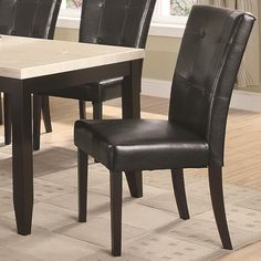 Anisa Dining Side Chair by Coaster - Nashville Discount Furniture - Dining Side Chair Nashville, Franklin, Brentwood, Clarksville, Green Hills, Davidson County, Williamson County, Tennessee