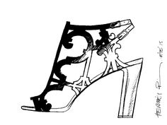"""Keira - Sandal in black calfskin with """"Balcon du Guadalquivir"""" design - Hermes Hermes Shoes, Pints, Stylish Girl, Dressing Room, Envy, Classic Style, Fashion Looks, Sketches, Rooms"""