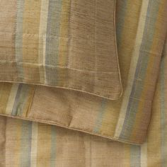 ANICHINI True Color Quilts and Shams in Barkha, a hand loomed silk