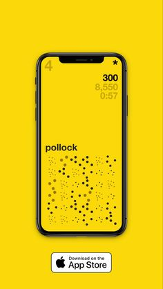 Inspired by Jackson Pollock, this is one of many eye testing levels in Minimal Match Three a simple match three game that gets harder based on the tiles you have to match.  Designed and developed by The Appreciative Minimalist #jacksonpollock #match3 #game #UI #UX