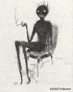 Other style influences – Tim Burton and Salvador Dali