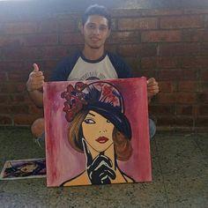 #arte #pintura #lienzo