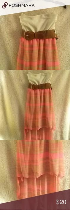 🌺🍀🌺RUE 21 STRAPLESS SUNDRESS🌺🍀🌺 🌟Cute comfortable strapless sundress! 🌟 Excellent condition! 🌹Never worn and still with tags!! 🌻Great Choice to purchase with summer on the way!!💐🌹💐 Rue 21 Dresses Midi