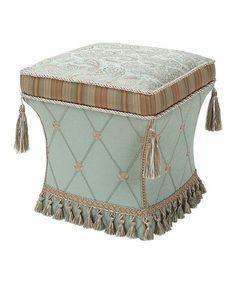 Loving this Lulu Pedestal Ottoman on #zulily! #zulilyfinds