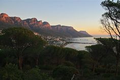 Cape Town, South Africa sunset.... I cannot believe my aunt is here right now and didn't bring me with her!!!! Jk, but not really! :)