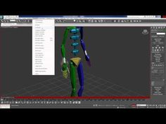 """Tutorial """"Biped Footstep, Layers, and Inverse Kinematics Part 2 -3DS MAX"""