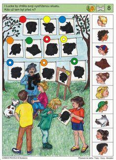 LOGICO PICCOLO | Logické myšlení | Tvary - Vzory - Množství | Didaktické pomůcky a hračky - AMOSEK
