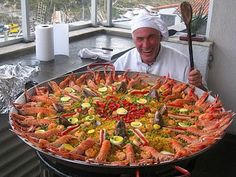 paella!!  Probably about enough for me - what were you going to have?
