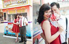 Lindsey Michelle Photography: Carnival Engagement Session :: Lafayette, LA