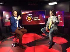 kalyan Chaubey: Me, Kalyan Chaubey enjoyed a lotat Lets Football S...