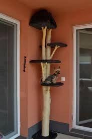 katzen kratzbaum bauen pinteres. Black Bedroom Furniture Sets. Home Design Ideas