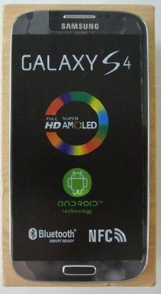 Samsung Galaxy S4 i9505 Unlocked Phone, 16 GB, Black Samsung