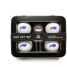 Team Golf NFL Buffalo Bills 4 Golf Ball And Divot Tool Set, Blue