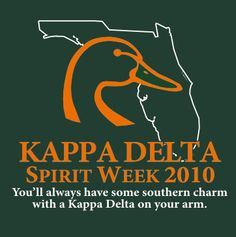 You'll always have some southern charm with a Kappa Delta on your arm.