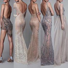 Signature Berta backs, the evening line Pretty Dresses, Sexy Dresses, Fashion Dresses, Event Dresses, Formal Dresses, Wedding Dresses, Nikkah Dress, Classy Dress, Couture Dresses
