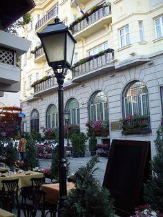 Skadarlija street in Belgrade, Serbia - had lovely meal and company at this resto...beautiful memories