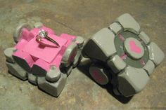 <3 <3 <3 Proposal with a companion cube