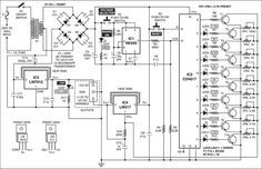 The most frequently used device in electronic workshops and laboratories is a universal power supply that provides a variable, fluctuation-free output. Here we present a variable power supply with digital control that is simple and easy to construct. The circuit is built around an adjustable 3-terminal positive-voltage regulator IC LM317, CMOS decade counter IC CD4017, …