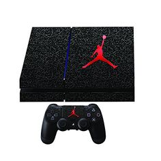 Jordan Premium Designer Limited Edition Skin 2 by Playstation Games, Xbox Games, Mmorpg Games, All Video Games, Ps4 Or Xbox One, Ps4 Skins, Geek Games, Ps4 Controller, Vintage Games