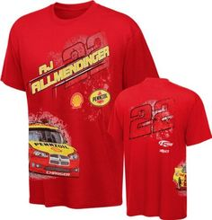 AJ Allmendinger #22 All Around T-Shirt by Checkered Flag. $25.99. Proudly show off your appreciation for the sport of racing and your favorite driver with this AJ Allmendinger #22 All Around T-Shirt. This NASCAR t-shirt features 100% cotton construction and screen print graphics.