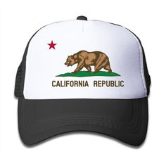 Clipart Flag Of California Bear Star Toddler Small Sunscreen Cap Baseball Cute Hat For Children. Clipart Flag Of California Bear Star 100% Cotton Youth Caps. Sweatband Ensures An Exceptional Fit. Recommendation: Hand Washing. Unisex | One Size Fits All Children's Head. Printed With Eco-friendly Ink.