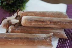 Geladinho cremoso de chocolate | Receitas e Temperos