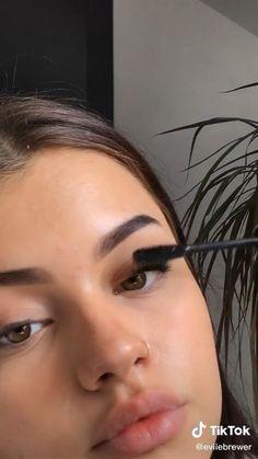 Contour Makeup, Eyebrow Makeup, Skin Makeup, Natural Prom Makeup, Natural Makeup Looks, Casual Makeup, Simple Makeup, Maquillage On Fleek, Morning Makeup