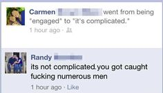 The Most Awkward Public Break-Ups In Facebook History, so much drama...so little time to read them all.