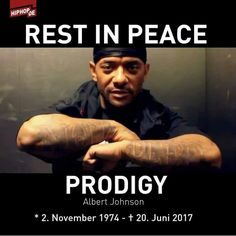 Prodigy (of Mobb Deep) 1974-2017