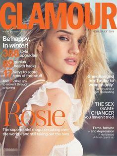 Glamour UK February 2016 Cover (Glamour UK)