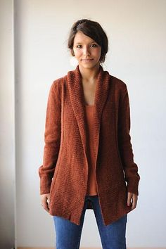 Autumnal Cardigan Knitting pattern by knitbot | Knitting Patterns | LoveKnitting