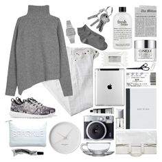 """1 // grey oceans"" by winterfells ❤ liked on Polyvore featuring Polo Ralph Lauren, Joseph, NIKE, Miss Selfridge, Georg Jensen, Casio, Christian Dior, Gap, Stila and Maison Margiela"