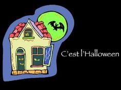 Here's an idea: French Interactive Halloween activities, a selection of French Halloween videos and a freebie! Video: C'est l'Halloween!