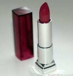 "MAC Craving Dupe: Maybelline Color Sensational Lipstick, ""Bit of Berry"""