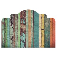 Distressed Panels Adhesive Headboard Wall Decal - WallsNeedLove Wall Decals, Adhesive Wall Stripes, Removable Wallpaper & Vinyl Wall Art