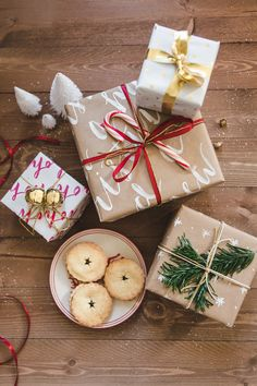Do It Yourself Every year I love to wrap a few special presents in my own wrapping paper. I'm probably a total idiot, because it would take far less time if I'd just buy a roll from the shops, but the