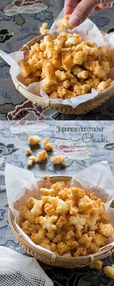 Okaki Japanese rice cracker