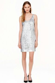 J.Crew Collection Cate Sequin Dress, $599.99, available at J.Crew.