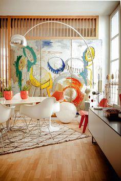 chic and modern home of serge bensimon / sfgirlbybay