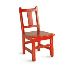 Vintage Red Chairs - set of 2