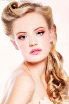 Best ideas for Retro Hairstyles for Long Hair, posted on March 4, 2014 in Retro Hairstyle