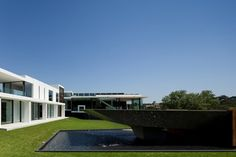 A Mix of Wood and Glass: Casa Vale Do Lobo by Arqui+Arquitectura   DesignRulz