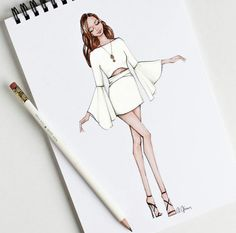 Fashion drawing ideas sketches 55 ideas 26 ideas for fashion design sketches sketchbooks fashion Dress Design Drawing, Dress Design Sketches, Fashion Design Sketchbook, Fashion Design Drawings, Dress Drawing, Fashion Sketches, Dress Designs, Fashion Drawing Dresses, Fashion Illustration Dresses