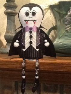 Sew Much Fun Dracula stitched by Jean S.  with Park Ave. Ndlpt.