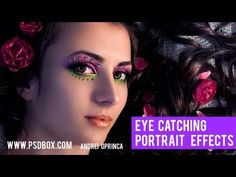 I made this retouching tutorial for the Photoshop Creative magazine.    Text tutorial also available here: http://www.psdbox.com/tutorials/create-eye-catching-portraits-in-photoshop/