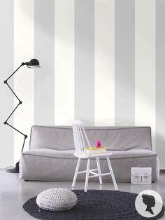 A righe auto adesivo rimovibile Wallpaper - D002