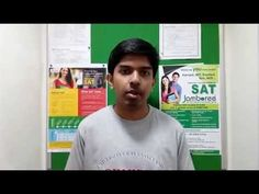His #SAT #coaching experience with #Jamboree_Education.
